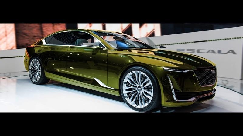 NEW 2019 - Cadillac Escala 4.2L V8 500 hp Luxury Sedan - Interior and Exterior 1080p Full HD
