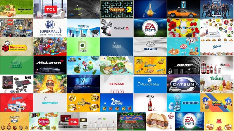 Top 50 (Part-11) Famous Brands Spoof Pixar Lamp Luxo Jr Logo