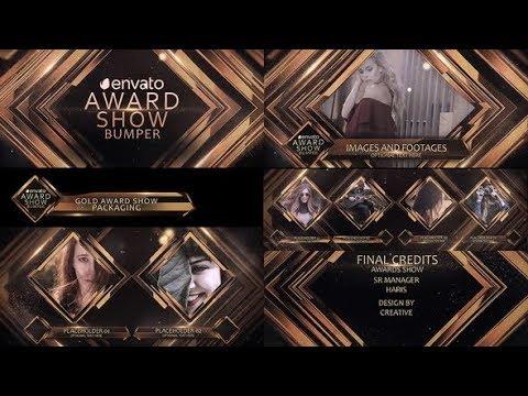Awards Show Packaging v2   AF Templates   videohive