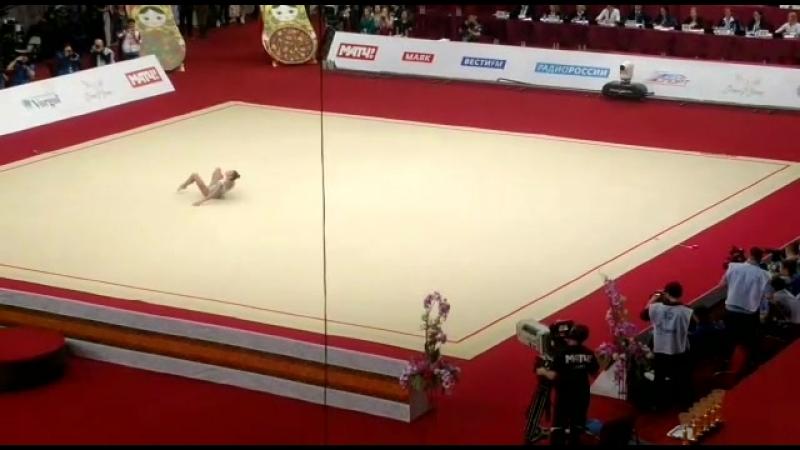 Александра Солдатова лента гран при Москва 2018 финал