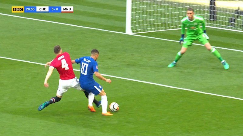 Eden Hazard vs Manchester United (Wembley) 19/05/2018 HD 1080i