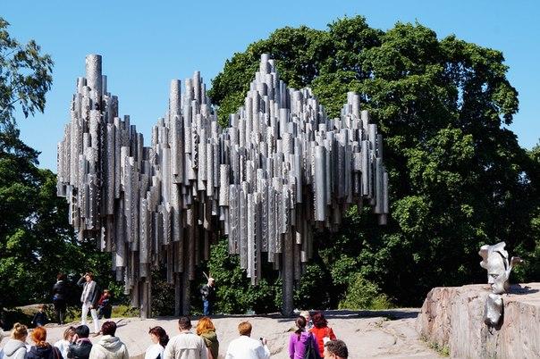 Памятник Яну Сибелиусу