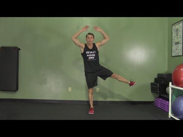 Низкоинтенсивная, низкоударная кардио тренировка. Low Intensity Cardio Workout - HASfit Low Impact Aerobics - Low Impact Cardio Workouts