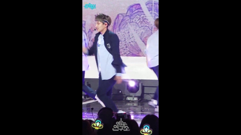 [180526] HeoChan focus @ Show Music Core Comeback Stage @ 오월애(Time of Sorrow)