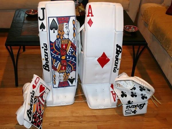 Как в домашних условиях сделать щитки хоккейные