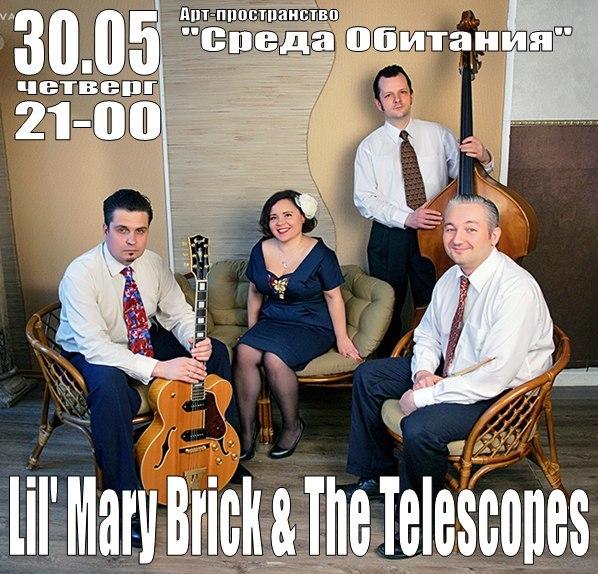 30.05 Lil' Mary Brick & The Telescopes в Среде Обитания