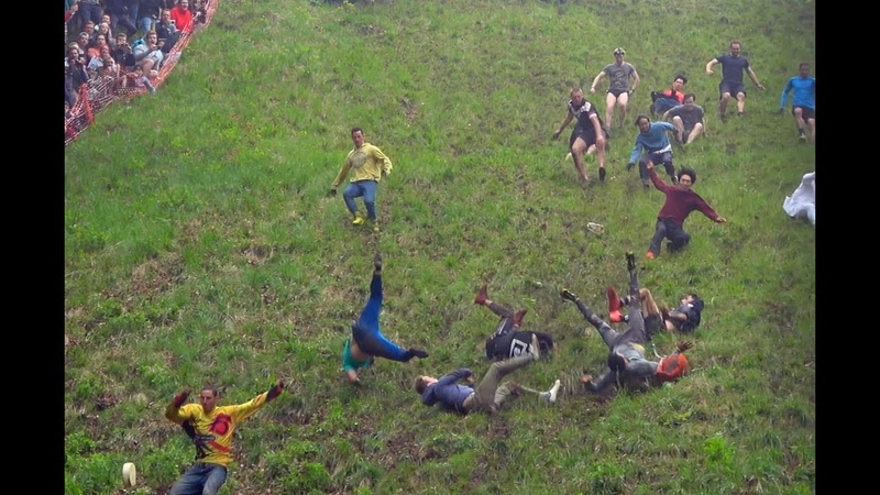 Injuries after 2018 cheese rolling event Extended version
