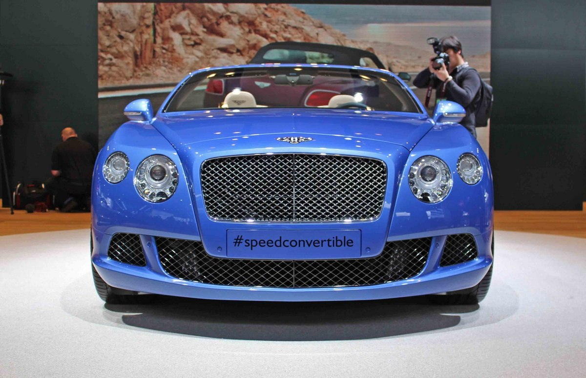 Кабриолет Bentley Continental GT Speed