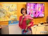 Открытие выставки Марианны Очира