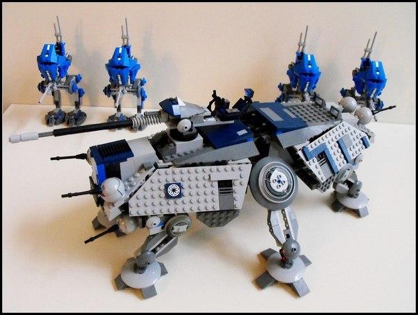 Звёздные войны война клонов и лего