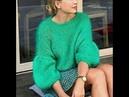 Простой Красивый Женский Пуловер Спицами - 2019 / Simple Beautiful Women Pullover Knitting