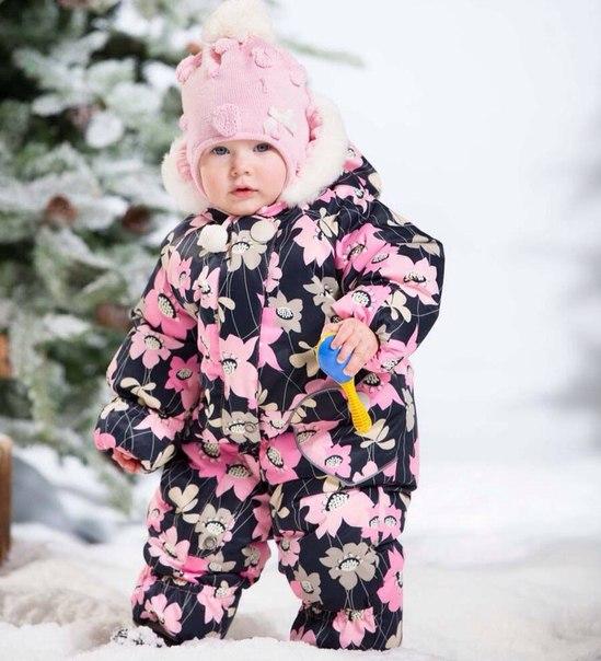 Kerry комбинезон зимний для девочки