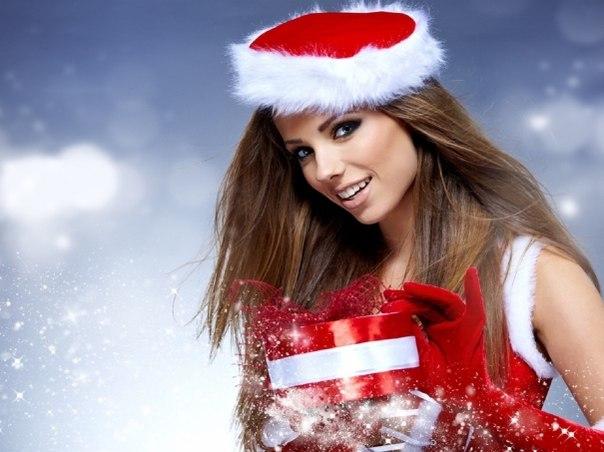 красивые фотографии девушек снегурочек