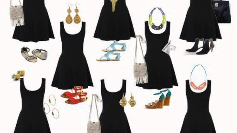 Cómo combinar un Vestido Negro (Outfits)