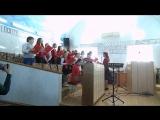 Песнь победную миру. Служение детского хора, апрель 2018, Константиновка