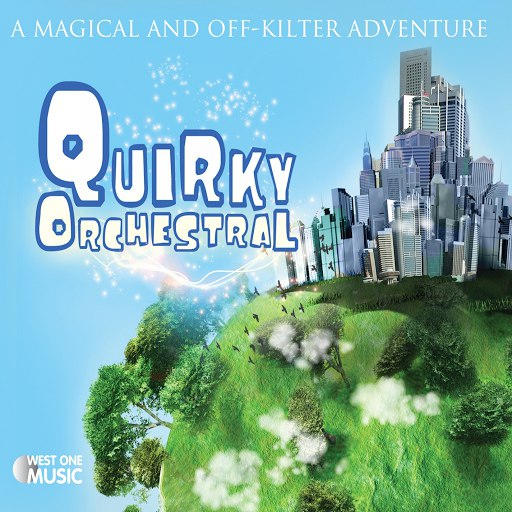 Jack Wall альбом Quirky Orchestral (Original Soundtrack)