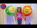 Огромный Чупа Чупс с СЮРПРИЗАМИ Видео для детей Распаковка Giant Chuppa Chups Lollipops