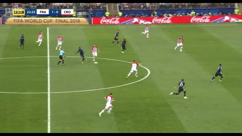 France has WON the WORLDCUP - France - Croatia Tactical Analysis