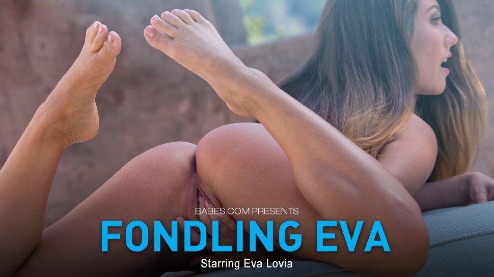 Eva Lovia Fondling Eva