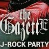 the GazettE J-Rock party |13 июня| Дождь-Мажор