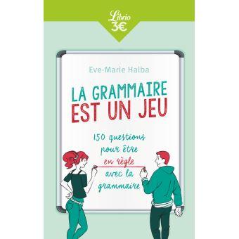 grammaire Eve-Marie Halba