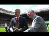 special gesture for Arsene