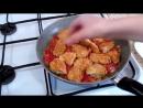 Вроде так просто а как вкусно получается Куриное филе и вермишель