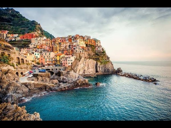 Манарола Италия / Manarola Italy 4K Ultra HD