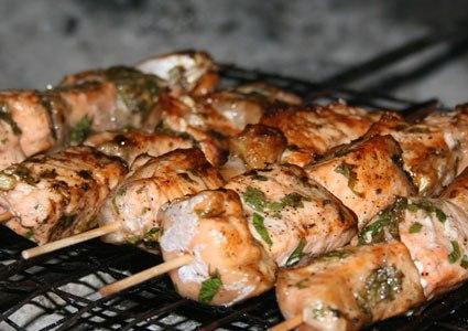 Рецепты приготовления маринада для шашлыка из рыбы.