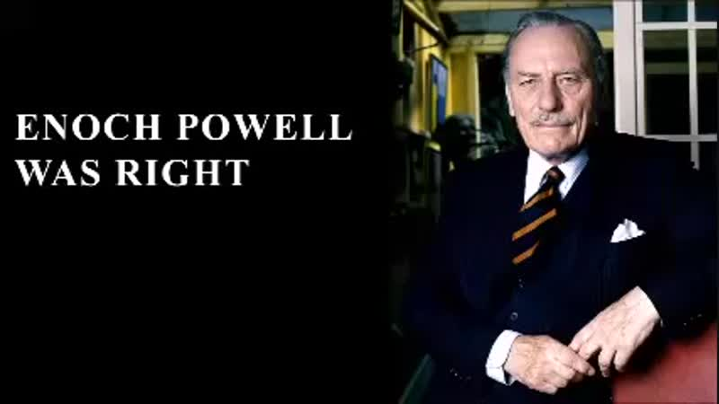 Enoch Powell - Ströme von Blut werden fließen