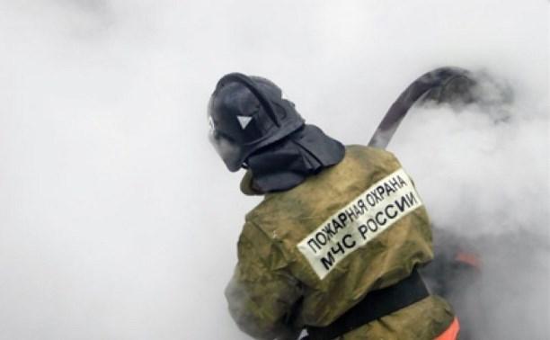 В Псыже сгорела хозяйственная постройка