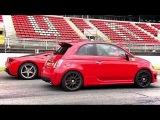 Antonio Lobato (Abarth) VS Marc Gene (458 Italia) Antena 3 Formula GT