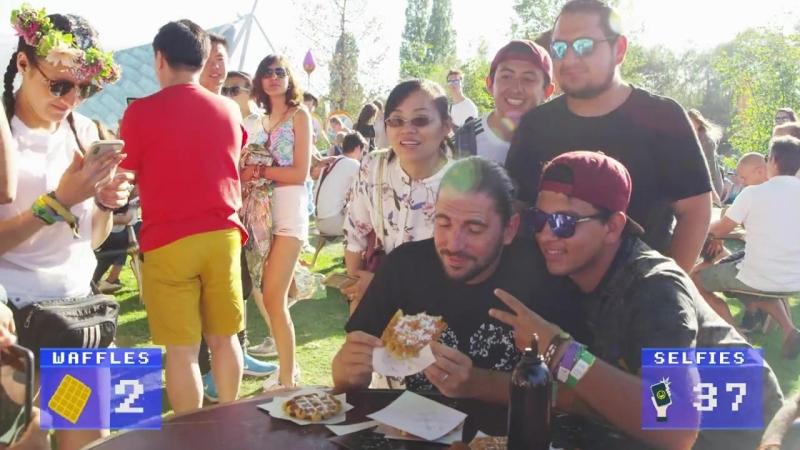 Dimitri Vegas waffle challenge! Tag 3 friends