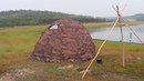 Отзыв об УП-2 с тамбуром 2х2, Экономка Средняя/Review of UP-2 tent with vestibule 2x2