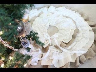 Очень красивая подставка под новогоднюю елку