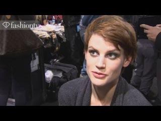 Saskia De Brauw - Model Talk at Fashion Week Fall/Winter 2012-13 | FashionTV