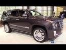 2018 Cadillac Escalade Exterior and Interior Walkaround 2018 Chicago Auto Show