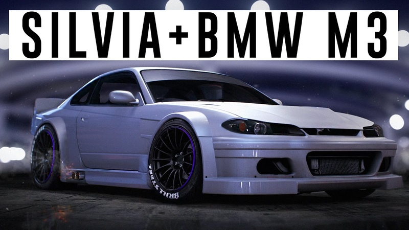 Nissan Silvia BMW M3 GTR (NFS 2015 / Photoshop / Speed Art / Virtual Tuning)