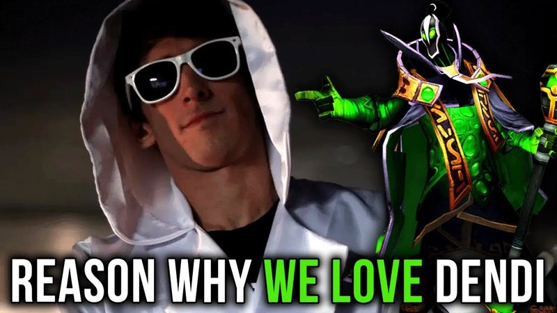 Reason Why We Love Dendi - Dota 2 Gameplay Compilation V4