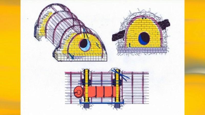 Типы и конструкции взрывоустойчивых перемычек