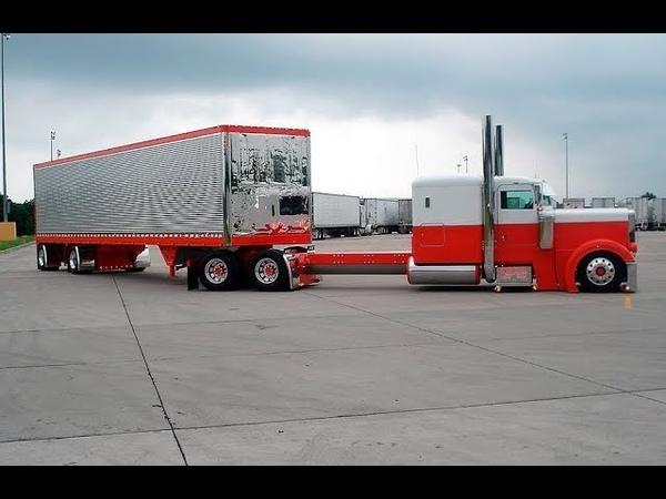 American Trucks - Big Rigs | Pure Sound | Diesel Truck | Classic | Jake Brake | Compilation 11