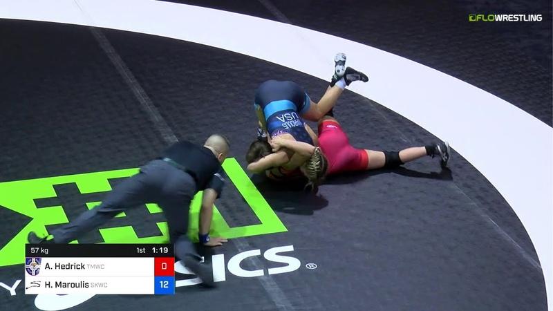 Final XWomen 57 2 Of 3 - Alex Hedrick (TMWC) Vs. Helen Maroulis (SKWC).mp4