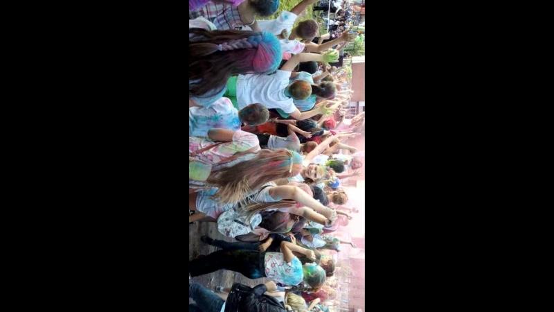 Г Тосно 18.08.2018 г фестиваль красок