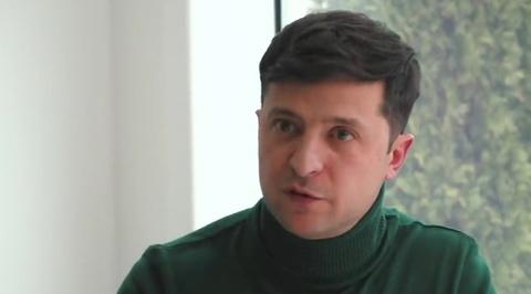 Кандидат президенты Украины шоумен Зеленский выступил в защиту русского языка
