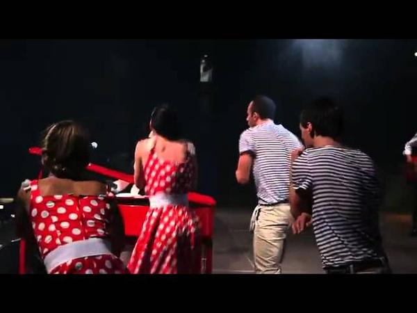 Matthew Lee the dancers show