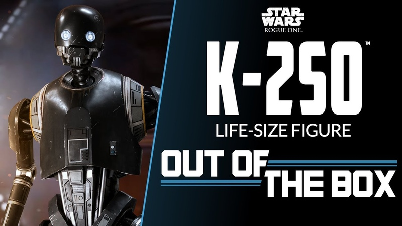K-2SO Life Size Figure - Out of the Box