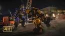 Бамблби пытается остановить передачу данных Десептиконов (8/8). Финальный бой Бамблби