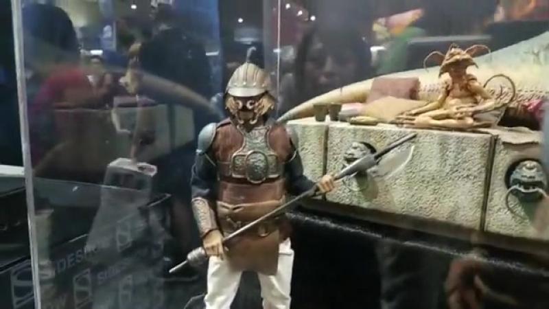 Lando Calrissian Skiff Guard 1 6 Reveal at San Diego Comic Con 2018 Sideshow