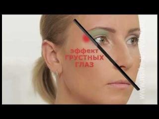Вечерний макияж для брюнеток в каринках