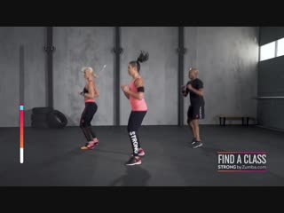 INTENSE CARDIO-TONING WORKOUT STRONG BY ZUMBA® 20 MINUTE DEMO